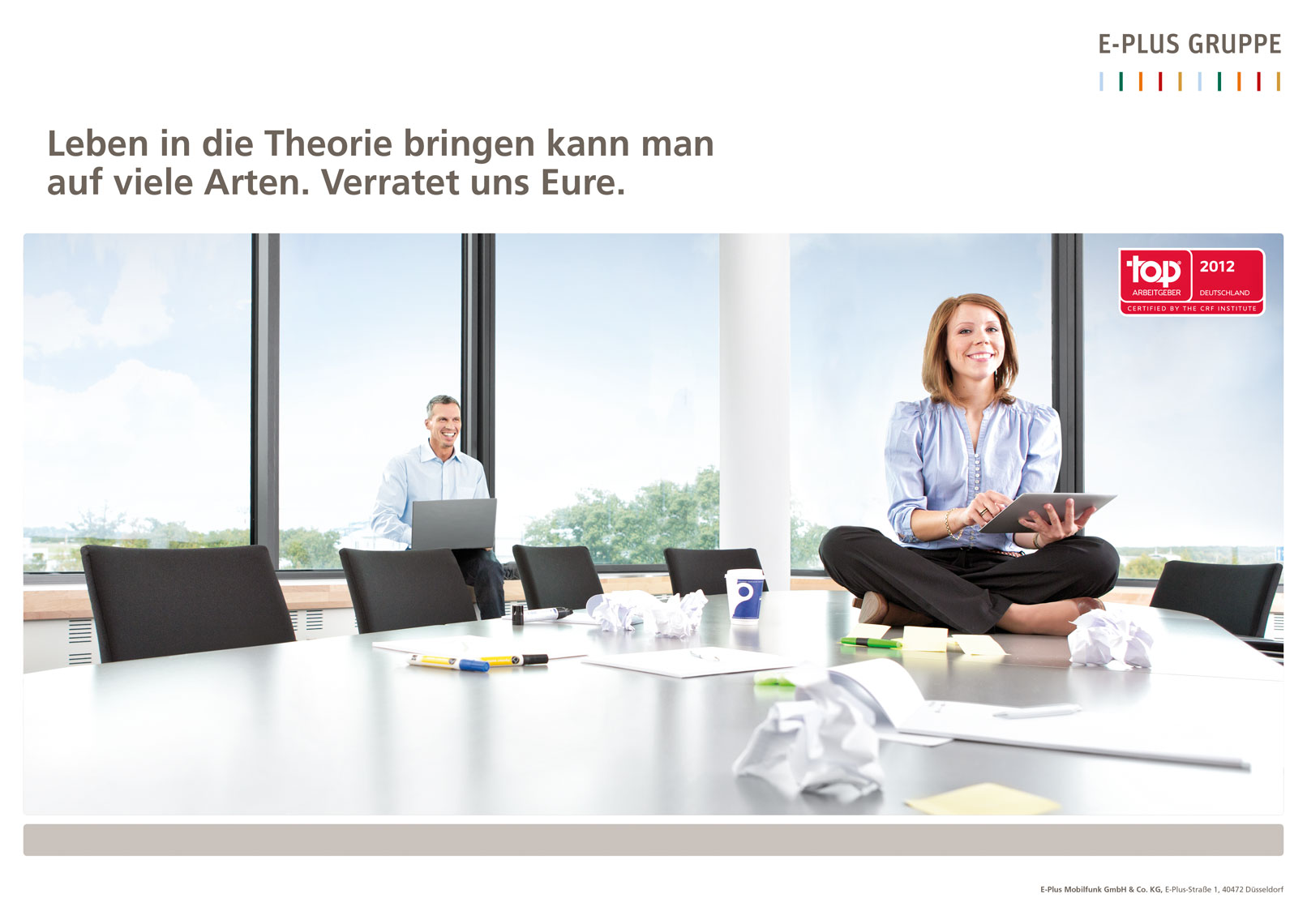 E-Plus Gruppe | Employer Branding Kampagne